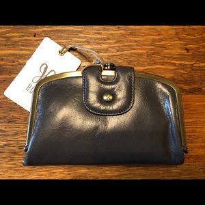 HoBo Gray Leather Wallet